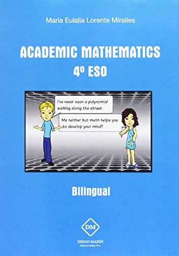 9788416625178: ACADEMIC MATHEMATICS 4º ESO BILINGUAL