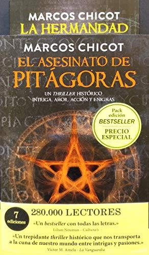 9788416634644: Pack regalo. El asesinato de Pitágoras y la hermandad (EDICION BESTSELLER)