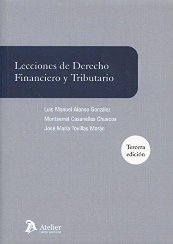 9788416652020: Lecciones de derecho financiero y tributario