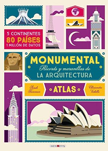Monumental: Récords y maravillas del la arquitectura 14 3/4 inch x 10 3/4 inch (Spanish Edition): ...