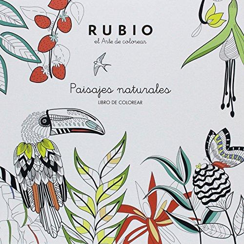 9788416744060: Paisajes naturales: libro para colorear de adultos