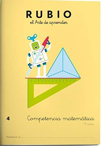 9788416744138: Competencia matemática RUBIO 4