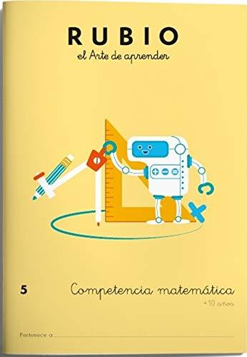 9788416744145: Competencia matemática RUBIO 5