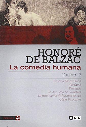 La comedia humana volumen 3 - de Balzac, Honoré