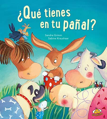 9788416773084: Qué tienes en tu pañal? (Spanish Edition)