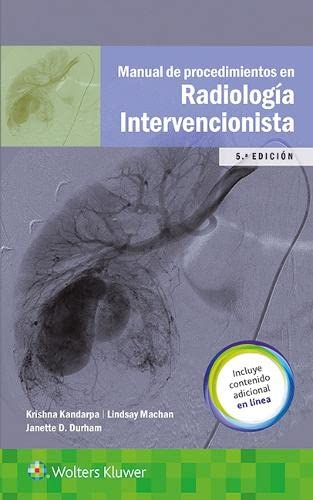 9788416781188: Manual de procedimientos en radiología intervencionista