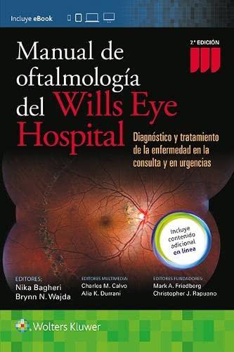 9788416781195: Manual de Oftalmologia del Wills Eye Hospital: Diagnóstico y tratamiento de la enfermedad en la consulta y en urgencias