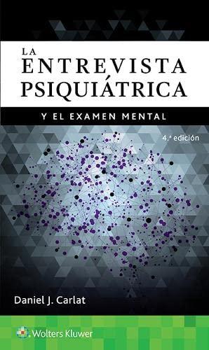 9788416781508: La entrevista psiquiatrica y el examen mental