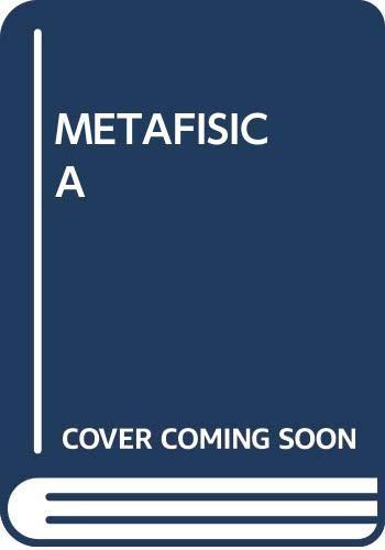 METAF¡SICA: Aristoteles