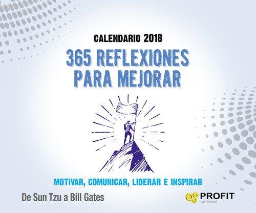 Calendario 365.9788416904525 Calendario 2018 365 Reflexiones Para Mejorar