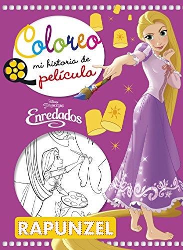 9788416917334: Enredados. Coloreo mi historia de película (Disney. Enredados)
