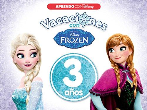 9788416931026: Vacaciones con Frozen. 3 años (Aprendo con Disney)