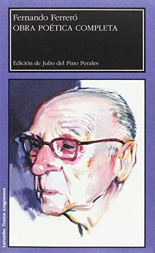 9788416933174: Obra poética completa. Fernando Ferreró