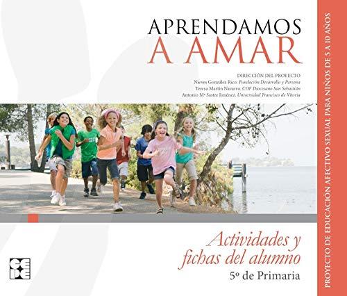 APRENDAMOS A AMAR 5 EP ACTIVIDADES Y: AAVV