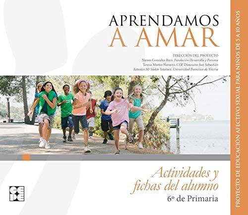 APRENDAMOS A AMAR 6 EP ACTIVIDADES Y: AAVV