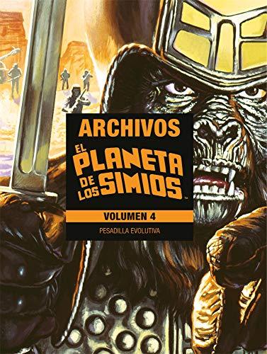 9788416986750: Planeta De Los Simios Archivos 04. Pesadilla Evolutiva