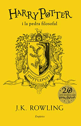 9788417016685: Harry Potter i la pedra filosofal (Hufflepuff) (SERIE HARRY POTTER)
