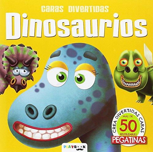 9788417076207: Dinosaurios (Caras divertidas)