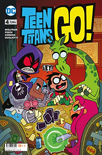 9788417147440: Teen Titans Go 4