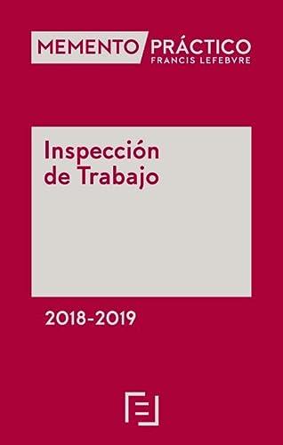 Memento inspeccion de trabajo 2018: Lefebvre