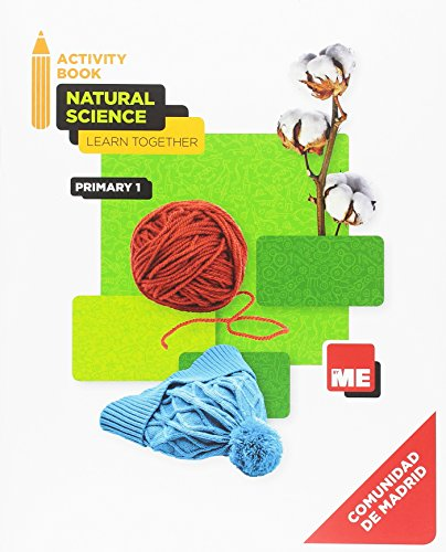 9788417217051: Natural Science 1 Madrid Workbook Learn Together (CC. Naturales Nivel 1)