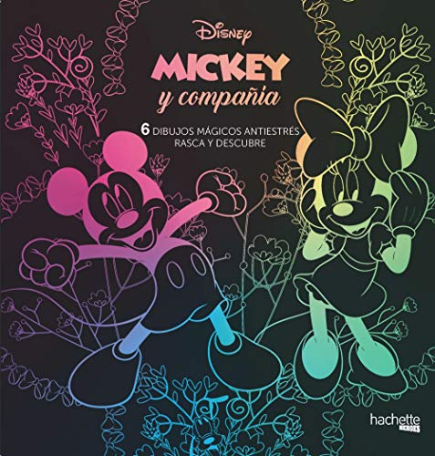9788417240677: Mickey Mouse. 6 dibujos mágicos: rasca y descubre (Hachette Heroes - Disney - Especializados)