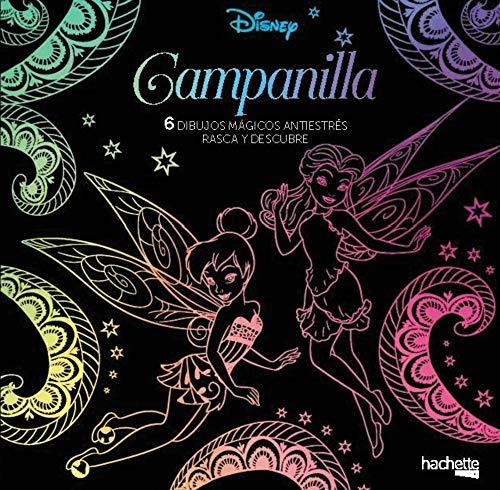 9788417240806: Arteterapia. Campanilla. 6 dibujos mágicos (Hachette Heroes - Disney - Especializados)