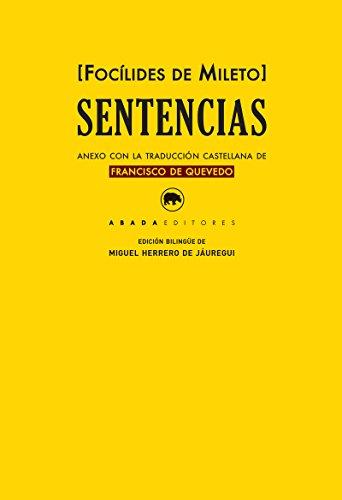 9788417301019: Sentencias (Clásicos de la literatura)