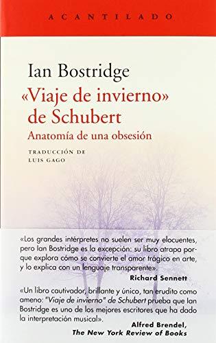 """9788417346560: """"Viaje de invierno"""" de Schubert: Anatomía de una obsesión: 385 (El Acantilado)"""