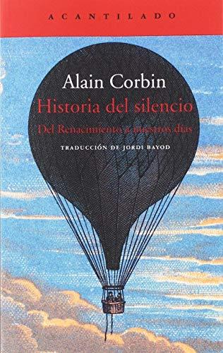 9788417346720: Historia del silencio: 390 (El Acantilado)