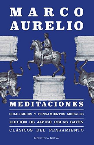 9788417408329: Meditaciones: Soliloquios y pensamientos morales (CLASICOS DEL PENSAMIENTO)