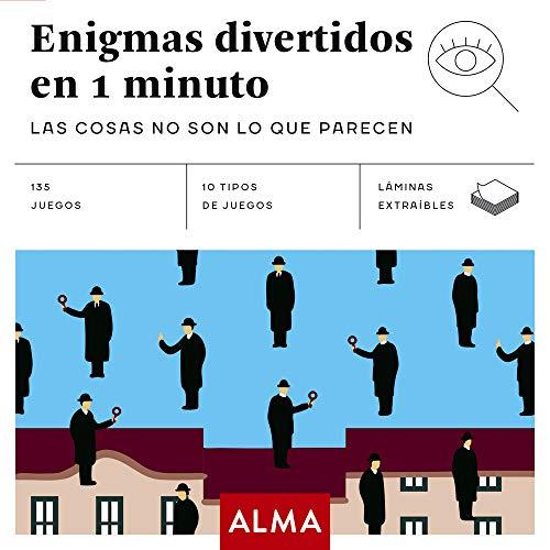 9788417430313: Enigmas divertidos en 1 minuto (Cuadrados de diversión)