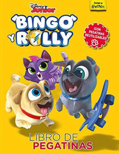 9788417529031: Bingo y Rolly. Libro de pegatinas: Con pegatinas reutilizables (Disney. Bingo y Rolly)