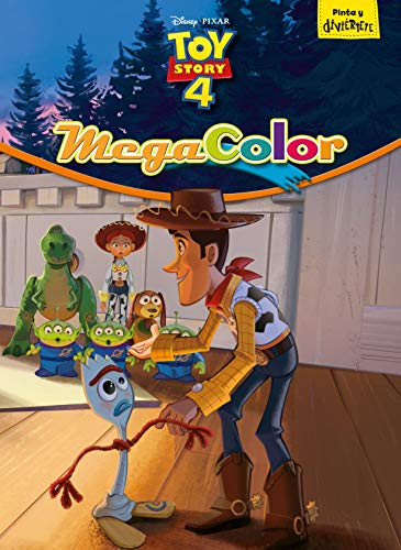 9788417529666: Toy Story 4. Megacolor (Disney. Toy Story 4)