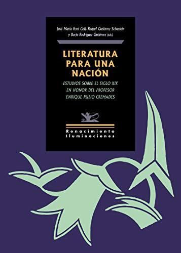 LITERATURA PARA UNA NACIÓN: M.ª José Alonso