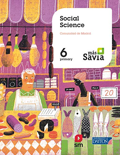 9788417559243: Social Science. 6 Primary. Más Savia. Madrid