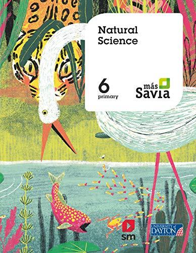 9788417559298: Natural Science. 6 Primary. Más Savia