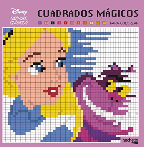9788417586126: Cuadrados mágicos-Grandes Clásicos Disney (Hachette Heroes - Disney - Colorear)