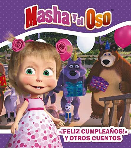 """9788417586379: """" ¡Feliz cumpleaños! """" y otros cuentos (Hachette Infantil - Masha Y El Oso - Cuentos)"""