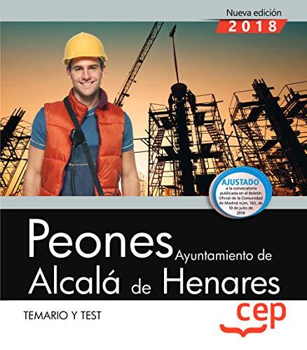 9788417625634: Peones. Ayuntamiento de Alcalá de Henares. Temario y test