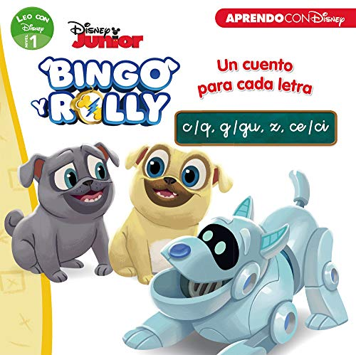 9788417630126: Bingo y Rolly. Un cuento para cada letra: c/q, g/gu, z, ce/ci (Leo con Disney - Nivel 1)