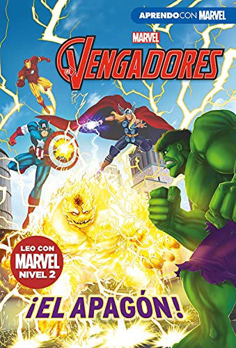 9788417630225: Los Vengadores. ¡El apagón! (Leo con Marvel - Nivel 2)