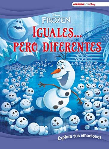 9788417630294: Frozen. Iguales... pero diferentes (Aprende cada día con Disney): Explora tus emociones