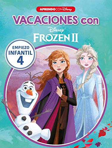9788417630706: Vacaciones con Frozen II (Libro educativo Disney con actividades): Empiezo... infantil 4