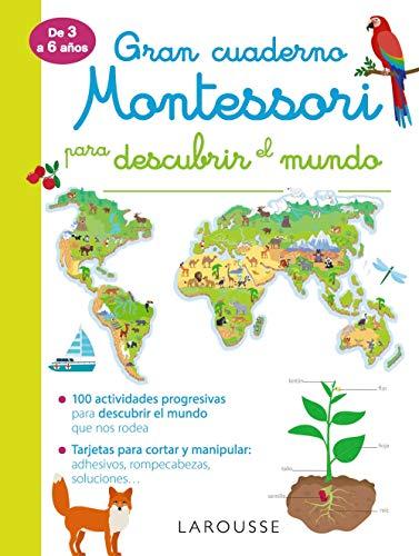 9788417720261: Gran cuaderno Montessori para descubrir el mundo (LAROUSSE - Infantil / Juvenil - Castellano - A partir de 3 años)