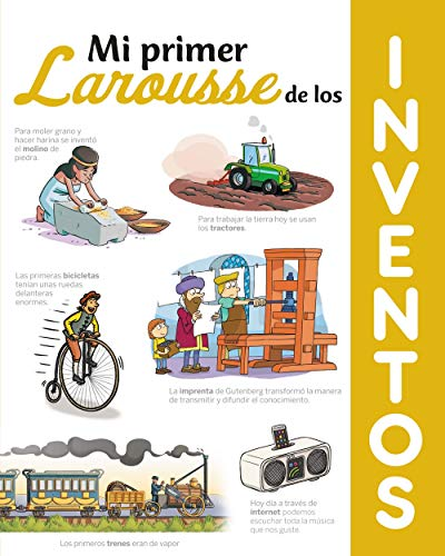 9788417720612: Mi primer Larousse de los Inventos (Larousse - Infantil / Juvenil - Castellano - A Partir De 8 Años)