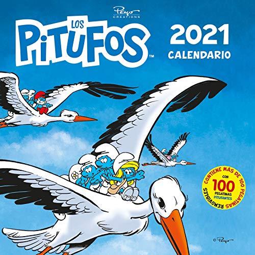 9788417760854: Calendario Los Pitufos 2021: 39 (Base Kids)