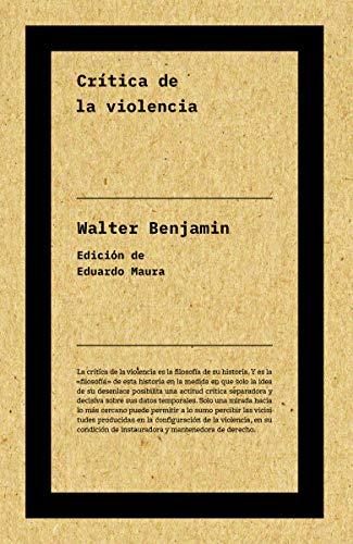 9788417893712: Crítica de la violencia: s/n (Autores)