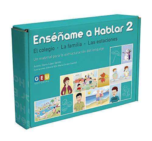 9788418137525: Enséñame a Hablar 2: Aprendo a Estructurar el Lenguaje   Comprensión Lectora   Educación Infantil y Educación Especial