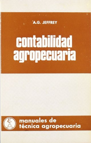 9788420000398: Contabilidad agropecuaria (Manuales de técnica agropecuaria)
